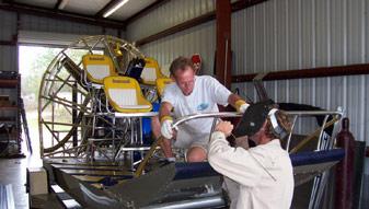 Homosassa Florida Marine Fabricators, Aluminum Boat T-Tops